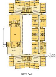 Cafeteria Floor Plan by Deforest Area District Eagle Point Elementary