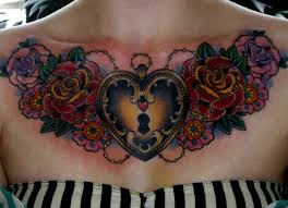 tattoos on chest for girls chest piece tattoos for girls tattoos for girls 2016