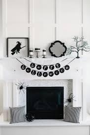 wonderful fireplace halloween ideas identifying tantalizing mantel