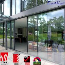 commercial glass sliding doors commercial frame or frameless automatic aluminum sensor sliding