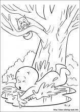 casper coloring pages coloring book