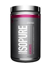 amazon com isopure amino supplement alpine punch 285 gram