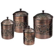bronze kitchen canisters heritage 4 kitchen canister set reviews wayfair