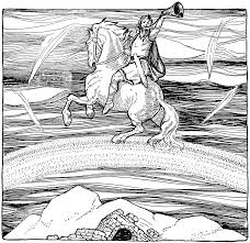 norse mythology 51 gods and goddesses u2013 printable coloring pages