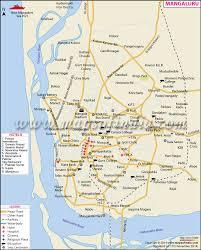 India Google Maps by Mangaluru Mangalore City Map