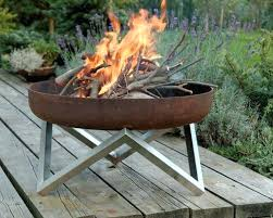 Metal Firepits Steel Bowls For Pits Large Metal Bowl Pit