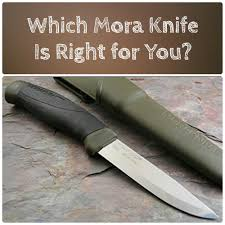 mora knife models explained and compared