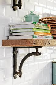 Open Metal Shelving Kitchen by Best 20 Metal Shelf Brackets Ideas On Pinterest Steel Shelf