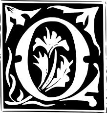 decorative letter set o clip art at clker com vector clip art