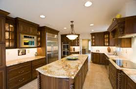 brown granite countertops long island for modern kitchen design