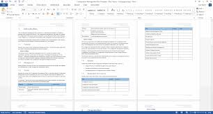 engineering test report template configuration management plan download 24 page ms word template configuration management plan blue ms word theme