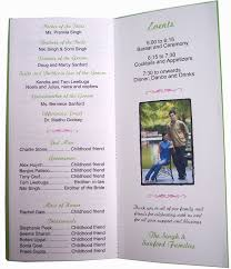 Sample Of Wedding Program 100 Examples Of Wedding Programs Templates Wedding