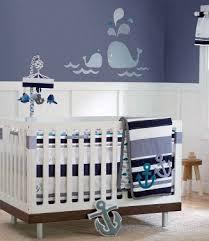 Nursery Decorations Boy Blue Baby Boy Nautical Sailboat Nursery Theme Decorating Ideas