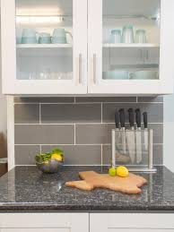 Excellent Gray Backsplash Tile  Gray Backsplash Tile Ideas - Gray backsplash tile