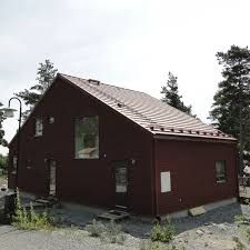 prefab house contemporary wooden frame two story sweden