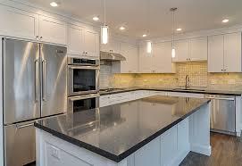 jim christina s kitchen remodel pictures home remodeling kitchen remodeling ideas white cabinetry dark granite aurora naperville il illinois sebring services