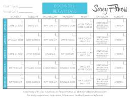 free workout schedule focus t25 review shocking results and printable workout calendar