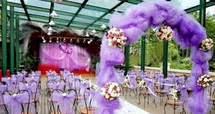 purple wedding reception decoration ideas purple picture
