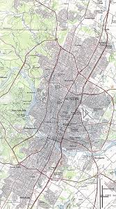 Austin Zoning Map by Reisenett Austin Texas Maps