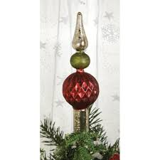 ideas mercury glass tree topper for tree decor with