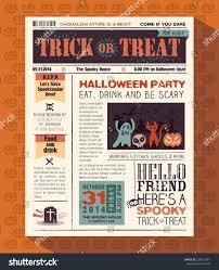 halloween party background music happy halloween party card vector design stock vector 220123981