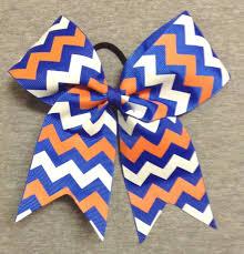 white and blue bows s bowtique custom made chevron bows softball bows