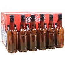 amber pet bottles 750ml supplied coopers diy craft beer brew kit