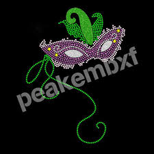 mardi gra wholesale 19 best mardi gras rhinestone transfers images on