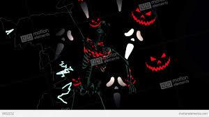 Skeleton Horror Halloween Pumpkin Stock Animation 8932032