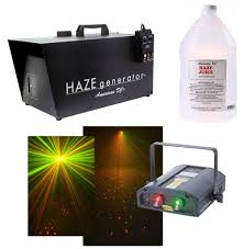 smoke machine halloween halloween party american dj galaxian 3d red green laser light