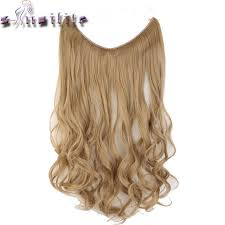 invisible line hair extensions online shop s noilite long synthetic hair heat resistant hairpiece