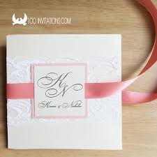 pocket invitations lace wedding invitations free shipping