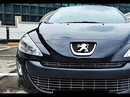 buy peugeot buy used peugeot 308 1 6 a turbo glass roof car in singapore