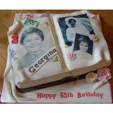 number and photo cakes