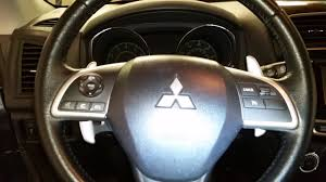 2015 mitsubishi outlander interior 2015 mitsubishi outlander sport interior tour steering wheel