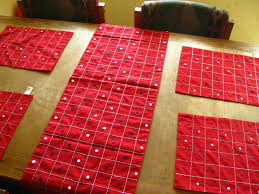 creative ideas dining table mats fancy inspiration table mats