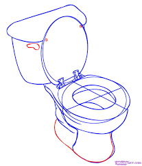 how to draw a toilet step by step stuff pop culture free