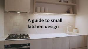 three small kitchens that are big on style