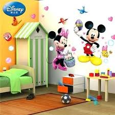 chambre mickey mouse chambre mickey mouse colorcasa amovible 3d wall sticker bacbac