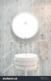 interior bathroom washbasin faucet black towel stock photo