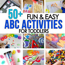 For Toddlers 50 Alphabet Activities For Toddlers Busy Toddler