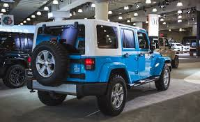 baby blue jeep wrangler the jeep wrangler chief limited edition is a thing car