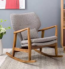 Oak Rocking Chairs Chair Leisure Chair Modern Minimalist Danish Style Furniture