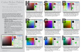 combination of colors in design color picker indesign courses
