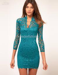 new women lace mini dress scalloped v neck jpg 870 1110 in