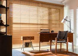 Wooden Curtains Blinds Wood Blinds And Faux Wood Blinds The Shade Store