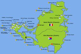 map of st martin st martin luxury villa rentals best villa mac caribbean