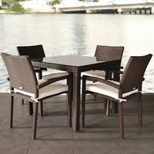Rattan Kitchen Furniture by Round Wicker Coffee Table Ottoman Tables Zone Rattan With Stools