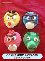 cupcakes gone angry diy angry bird party club chica circle