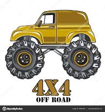 jeep cartoon offroad cartoon monster truck u2014 stock vector anastezzzia gmail com